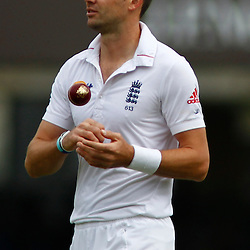 17/08/2012 London, England. England's James Anderson during the third Investec cricket international test match between England and South Africa, played at the Lords Cricket Ground: Mandatory credit: Mitchell Gunn