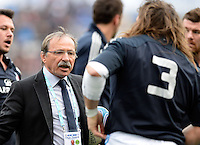 Rome, Italy -Jaques Brunel coach Italy during Italia vs Francia race of the championship rugby SIX NATIONS played at the Olimpico in Rome.(Credit Image: © Gilberto Carbonari/).