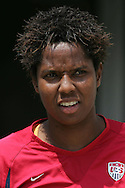 30 July 2006: Briana Scurry. The United States Women's National Team defeated Canada 2-0 at SAS Stadium in Cary, North Carolina, in an International Friendly match.
