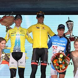 Reinhardt Janse van Rensburg wins final classement ronde van Overijssel 2012 2nd place Huub Duyn, 3th Wim Stroetinga