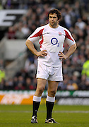 Twickenham, GREAT BRITAIN, Andy FARRELL, during the  England vs Scotland, Calcutta Cup Rugby match played at the  RFU Twickenham Stadium on Sat 03.02.2007  [Photo, Peter Spurrier/Intersport-images]....