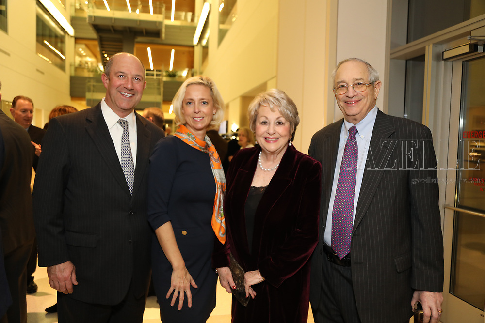Brian and Goska Cherrick, Alice and Harold Handelman