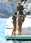 Ruby Rose looking thin in Ibiza