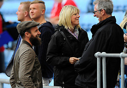 Former Bristol City player Louis Carey talks with fans   - Photo mandatory by-line: Joe Meredith/JMP - Mobile: 07966 386802 - 18/10/2014 - SPORT - Football - Coventry - Ricoh Arena - Bristol City v Coventry City - Sky Bet League One