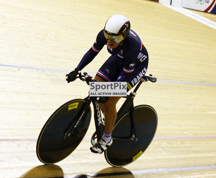 Melissandre Pain took silver in the womens 500m time trial (c) Craig Jardine | sportpix.org.uk