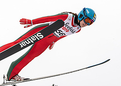 01.02.2019, Energie AG Skisprung Arena, Hinzenbach, AUT, FIS Weltcup Ski Sprung, Damen, Qualifikation, im Bild Lidiia Iakovleva (RUS) // Lidiia Iakovleva (RUS) during the woman's Qualification Jump of FIS Ski Jumping World Cup at the Energie AG Skisprung Arena in Hinzenbach, Austria on 2019/02/01. EXPA Pictures © 2019, PhotoCredit: EXPA/ Reinhard Eisenbauer