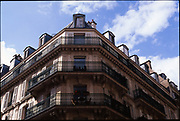 Balconies, Paris, France