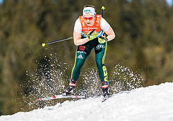 28.02.2019, Seefeld, AUT, FIS Weltmeisterschaften Ski Nordisch, Seefeld 2019, Langlauf, Damen, Staffel 4x5 km, im Bild Sandra Ringwald (GER) // Sandra Ringwald of Germany during the ladie's Relay 4x5 km competition of the FIS Nordic Ski World Championships 2019. Seefeld, Austria on 2019/02/28. EXPA Pictures © 2019, PhotoCredit: EXPA/ Stefan Adelsberger
