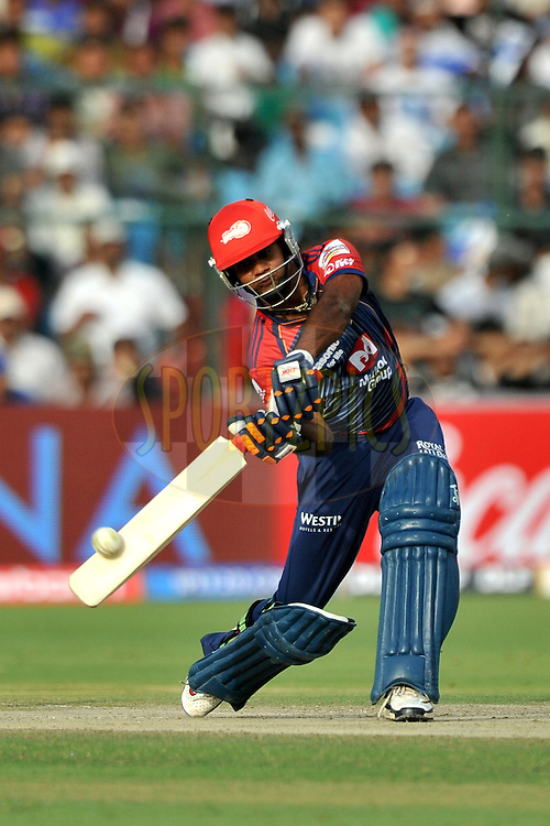 Venugopal Rao of Delhi Daredevils bats during match 7 of the the Indian Premier League ( IPL ) Season 4 between the Rajasthan Royals and the Delhi Daredevils held at the Sawai Mansingh Stadium, Jaipur, Rajasthan, India on the 12th April 2011..Photo by Pal Pillai/BCCI/SPORTZPICS