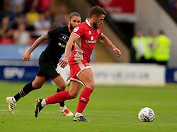 Flo Cuvelier of Walsall - Mandatory by-line: Paul Roberts/JMP - 18/07/2017 - FOOTBALL - Bescot Stadium - Walsall, England - Walsall v Aston Villa -  Pre-season friendly