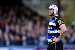 Dave Attwood of Bath Rugby - Mandatory byline: Patrick Khachfe/JMP - 07966 386802 - 17/10/2015 - RUGBY UNION - The Recreation Ground - Bath, England - Bath Rugby v Exeter Chiefs - Aviva Premiership.