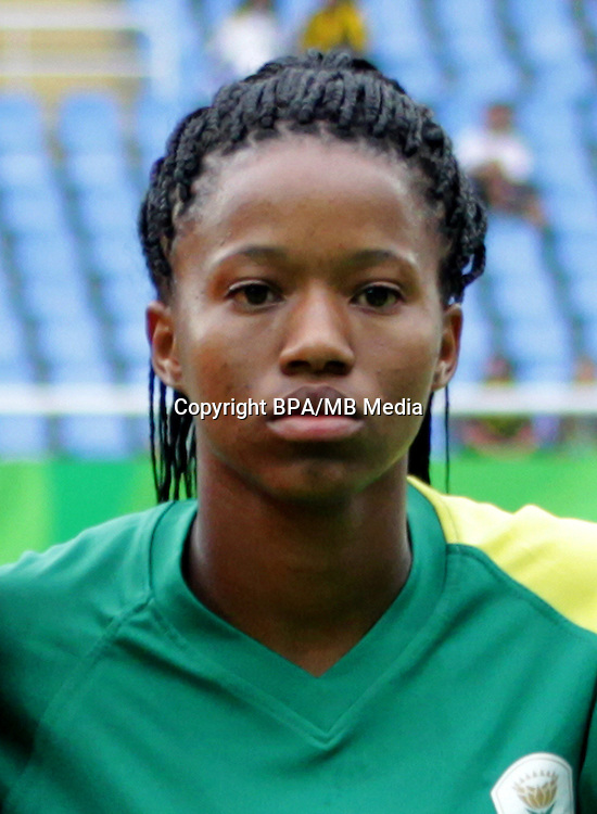 Fifa Woman's Tournament - Olympic Games Rio 2016 -  <br /> South Africa National Team - <br /> Jermaine SEOPOSENWE
