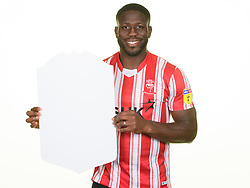 2018/19 Fifa Ultimate Team (FUT) - Lincoln City's John Akinde<br /> <br /> Picture: Chris Vaughan Photography for Lincoln City<br /> Date: September 13, 2018