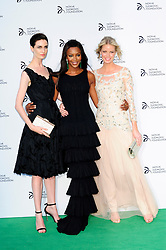 Novak Djokovic Foundation - London Gala Dinner<br /> (R-L) Caroline Winberg, Naomi Campbell and Erin O'Connor attends the inaugural London fundraiser in aid of tennis champion's foundation raising funds for vulnerable and disadvantaged children, especially in his native Serbia. Takes place day after men's Wimbledon final. Roundhouse, Chalk Farm Road, London, United Kingdom<br /> Monday, 8th July 2013<br /> Picture by Chris Joseph / i-Images
