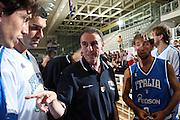 DESCRIZIONE : Trento Torneo Internazionale Maschile Trentino Cup Italia Portogallo Italy Portugal<br /> GIOCATORE : Carlo Recalcati<br /> SQUADRA : Italia Italy<br /> EVENTO : Raduno Collegiale Nazionale Maschile <br /> GARA : Italia Portogallo Italy Portugal<br /> DATA : 27/07/2009 <br /> CATEGORIA : ritratto time out<br /> SPORT : Pallacanestro <br /> AUTORE : Agenzia Ciamillo-Castoria/E.Castoria
