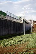 Frankfurt am Main | 01 Apr 2015<br /> <br /> Aussenmauer der Haftanstalt Frankfurt-Preungesheim.<br /> <br /> &copy;peter-juelich.com<br /> <br /> [No Model Release | No Property Release]