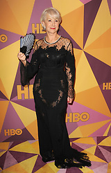 Helen Mirren at the HBO's 2018 Official Golden Globe Awards After Party held at the Circa 55 Restaurant in Beverly Hills, USA on January 7, 2018.