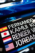 January 4, 5, 6, 2019. IMSA Weathertech Series ROAR test. #10 Konica Minolta Cadillac DPi-V.R. Cadillac DPi, DPi: Renger Van Der Zande, Jordan Taylor, Fernando Alonso, Kamui Kobayashi