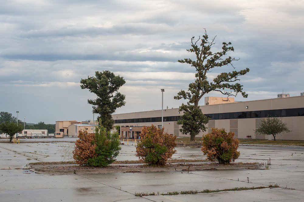 The closed down Electrolux factory on Saturday, July 28, 2012 in Webster City, IA.
