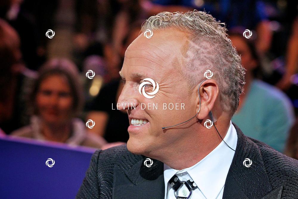 HILVERSUM - In studio 22 zijn de liveshows begonnen van Hollands Got Talent.  Met op de foto jurylid Gordon. FOTO LEVIN DEN BOER - PERSFOTO.NU
