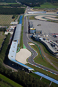 Nederland, Drenthe, Assen, 08-09-2009; Circuit van Drenthe, lokatie voor de jaarlijkse motorrace de TT Assen (Tourist Trophy), Grand Prix wegrace.Circuit  Drenthe, the location for the annual motor race Assen TT (Tourist Trophy), Grand Prix motorcycle racing.luchtfoto (toeslag); aerial photo (additional fee required); .foto Siebe Swart / photo Siebe Swart