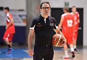 DESCRIZIONE : Bormio Lega A 2014-15 amichevole Ea7 Olimpia Milano - Stings Mantova<br /> GIOCATORE : Mario Fioretti<br /> CATEGORIA : before riscaldamento allenatore coach<br /> SQUADRA : Ea7 Olimpia Milano<br /> EVENTO : Valtellina Basket Circuit 2014<br /> GARA : Ea7 Olimpia Milano - Stings Mantova<br /> DATA : 04/09/2014<br /> SPORT : Pallacanestro <br /> AUTORE : Agenzia Ciamillo-Castoria/R.Morgano<br /> Galleria : Lega Basket A 2014-2015  <br /> Fotonotizia : Bormio Lega A 2014-15 amichevole Ea7 Olimpia Milano - Stings Mantova<br /> Predefinita :