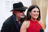 Patrick Bergin and Lisa Cannon at the 2017 IFTA Film & Drama Awards at the Round Room of the Mansion House, Dublin,  Ireland Saturday 8th April 2017.