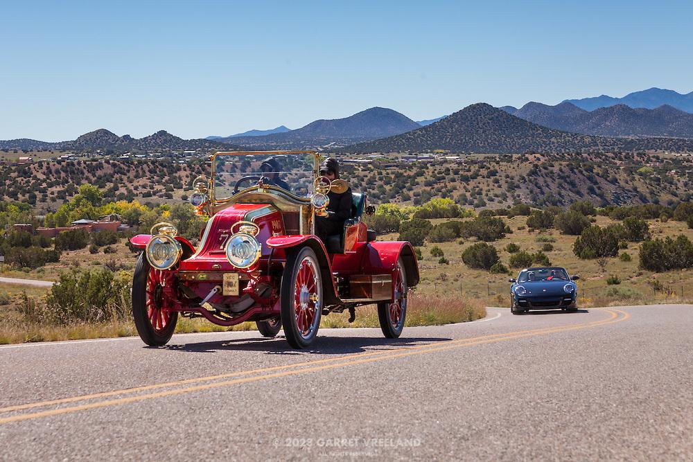 The Cerrillos to Santa Fe leg of the Mountain Tour, part of the events for the 2013 Santa Fe Concorso.
