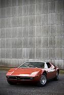 27/06/17 - COMBRONDE - PUY DE DOME - FRANCE - Essais MASERATI BORA de 1974 - Photo Jerome CHABANNE