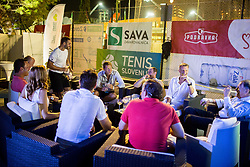 VIP during Day 5 at ATP Challenger Zavarovalnica Sava Slovenia Open 2018, on August 7, 2018 in Sports centre, Portoroz/Portorose, Slovenia. Photo by Vid Ponikvar / Sportida