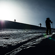 Ski touring in the Whistler backcountry