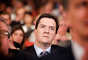 Conservative Party Conference, ICC, Birmingham, Great Britain <br /> Day 1<br /> 7th October 2012 <br /> <br /> Rt Hon George Osborne MP<br /> <br /> <br /> Photograph by Elliott Franks<br /> <br /> Tel 07802 537 220 <br /> elliott@elliottfranks.com<br /> <br /> ©2012 Elliott Franks<br /> Agency space rates apply