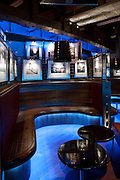 under the bridge, nightclub, chelsea football club, london, england, uk, lighting, LED