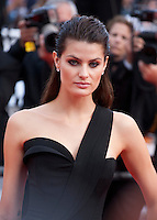 Isabeli Fontana at the gala screening for the film The Unknown Girl (La Fille Inconnue) at the 69th Cannes Film Festival, Wednesday 18th May 2016, Cannes, France. Photography: Doreen Kennedy