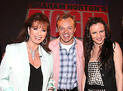 THE GRAHAM NORTON SHOW WITH GUESTS JACKIE COLLINS GRAHAM NORTON JULIET LEWIS .25.9.06.PIX STEVE BUTLER