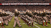 Nov 24, 2011; College Station, TX, USA; The Texas A&M Aggies band performs against the Texas Longhorns during halftime at Kyle Field. Texas won 27-25. Mandatory Credit: Thomas Campbell