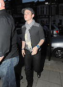27.JUNE.2011. LONDON<br /> <br /> CHRIS COLFER FROM GLEE LEAVING THE O2 SHEPERDS BUSH EMPIRE AFTER WATCHING BEYONCE'S SPECIAL ONE OFF GIG TO LAUNCH HER NEW ALBUM 4.<br /> <br /> BYLINE: EDBIMAGEARCHIVE.COM<br /> <br /> *THIS IMAGE IS STRICTLY FOR UK NEWSPAPERS AND MAGAZINES ONLY*<br /> *FOR WORLD WIDE SALES AND WEB USE PLEASE CONTACT EDBIMAGEARCHIVE - 0208 954 5968*