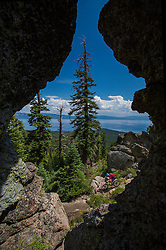 Jeremy Benson on the Tahoe Rim Trail