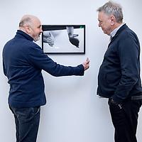 Nederland, Amsterdam, 2 februari 2016.<br /> Theatermakers Johan Simons en Theu Boermans.<br /> <br /> <br /> <br /> Foto: Jean-Pierre Jans