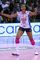 01-05-2017 ITA: Liu Jo Volley Modena - Igor Gorgonzola Novara, Modena<br /> Final playoff match 1 of 5 / Celeste Plak #4<br /> <br /> ***NETHERLANDS ONLY***