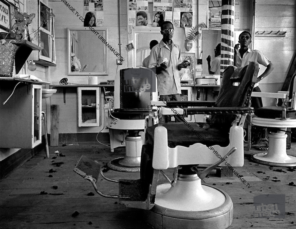 Barbers Shop in Port Antonio