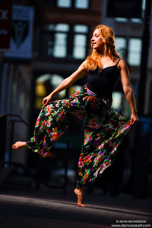 Dance As Art New York City Photography Project SoHo Series with dancer, Claudia Maciejuk