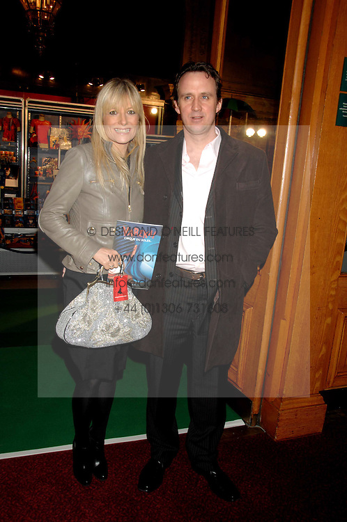 GABY ROSLIN and DAVID OSMAN at the gala night of Varekai by Cirque du Soleil at The Royal Albert Hall, London on 8th January 2008.<br /><br />NON EXCLUSIVE - WORLD RIGHTS