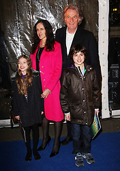 Designer Paul Smith and family  arriving at the Cirque Du Soleil: Totem - gala night held at  the Royal Albert Hall in London, Thursday 5th January 2012. Photo by: Stephen Lock / i-Images