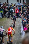 Haley Batten (USA) Women during the Women U23 Cross Country World Champs at the 2018 UCI MTB World Championships - Lenzerheide, Switzerland