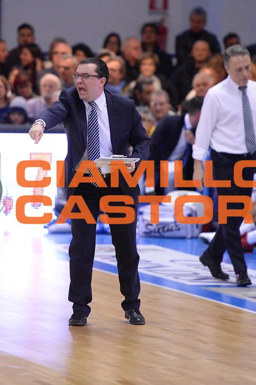 DESCRIZIONE : Brindisi  Lega A 2014-15 Enel Brindisi Giorgio Tesi Group Pistoia<br /> GIOCATORE : Daniele Michelutti<br /> CATEGORIA : Allenatore Coach Mani <br /> SQUADRA : Enel Brindisi<br /> EVENTO : Enel Brindisi Giorgio Tesi Group Pistoia<br /> GARA :Enel Brindisi Giorgio Tesi Group Pistoia<br /> DATA : 04/04/2015<br /> SPORT : Pallacanestro<br /> AUTORE : Agenzia Ciamillo-Castoria/M.Longo<br /> Galleria : Lega Basket A 2014-2015<br /> Fotonotizia : <br /> Predefinita :