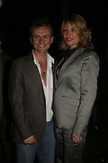 Jon Lee ( S Club 7) and Laurie Brell, Press night for Sunday in the Park with George, Inn The Park, St james Park opp ICA. 23 May 2006. <br />