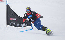 Prommegger Andreas during the FIS snowboarding world cup race in Rogla (SI / SLO) | GS on January 20, 2018, in Jasna Ski slope, Rogla, Slovenia. Photo by Urban Meglic / Sportida