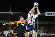 Romana Graham grabs Duane Vermeulen during a line out in their Investec Super 15 Rugby match, Chiefs v Stormers, at Waikato Stadium, Hamilton, New Zealand, Saturday 14 May 2011. Photo: Dion Mellow/photosport.co.nz