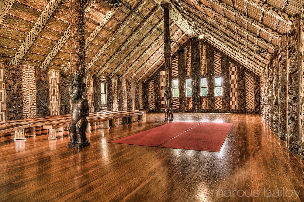 Te Whare Runanga, Waitangi, maori meeting house